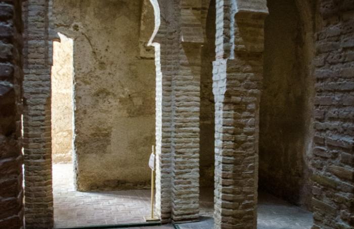 Alcázar de Jerez. Baños. Fotografía: Rafael Galán
