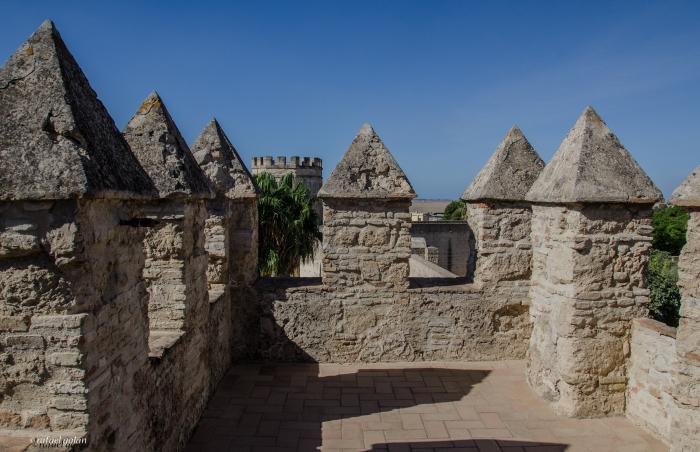 Alcázar de Jerez. Murallas. Fotografía: Rafael Galán
