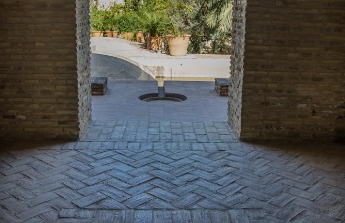 Alcázar de Jerez. Pabellón del Patio de Doña Blanca. Fotografía: Rafael Galán