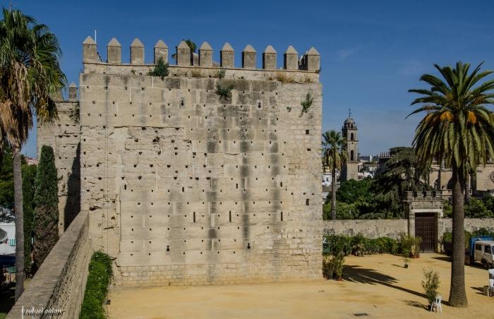 Alcázar de Jerez. Torre del Homenaje. Fotografía: Rafael Galán